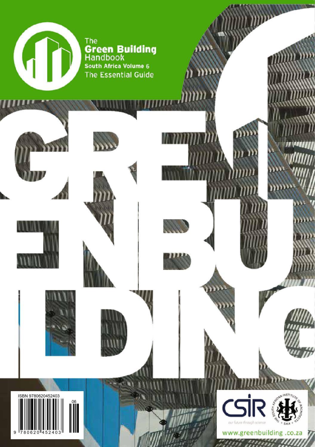 Green Building Handbook Vol 6