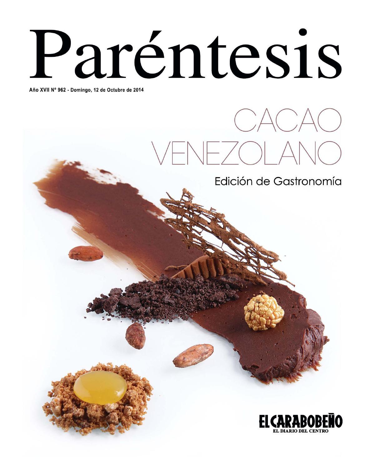 cacao venezolano edici211n de gastronom205a by revista