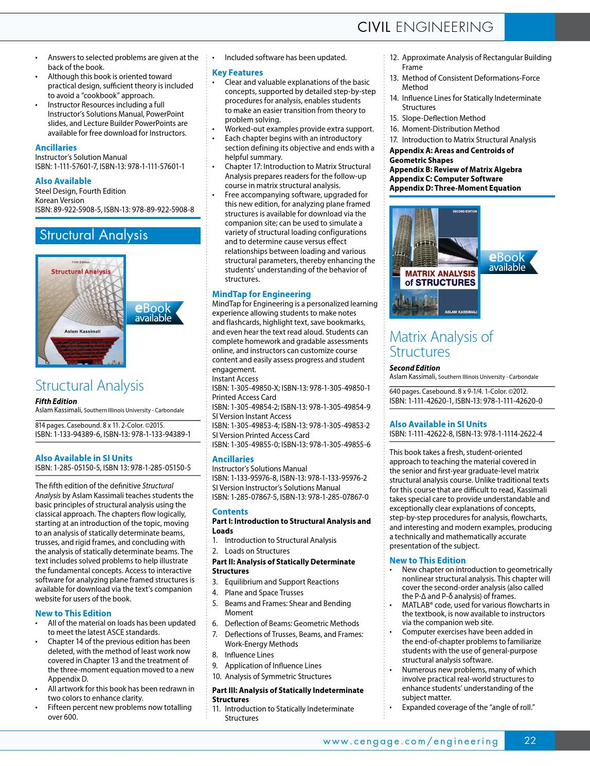 Cengage Learning Global Engineering 2015 Catalog by Cengage Learning Global  Engineering - issuu