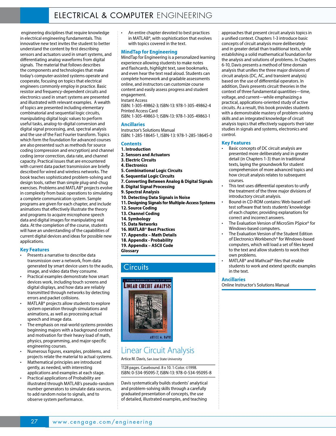 Cengage Learning Global Engineering 2015 Catalog By Cengage Learning Global Engineering Issuu