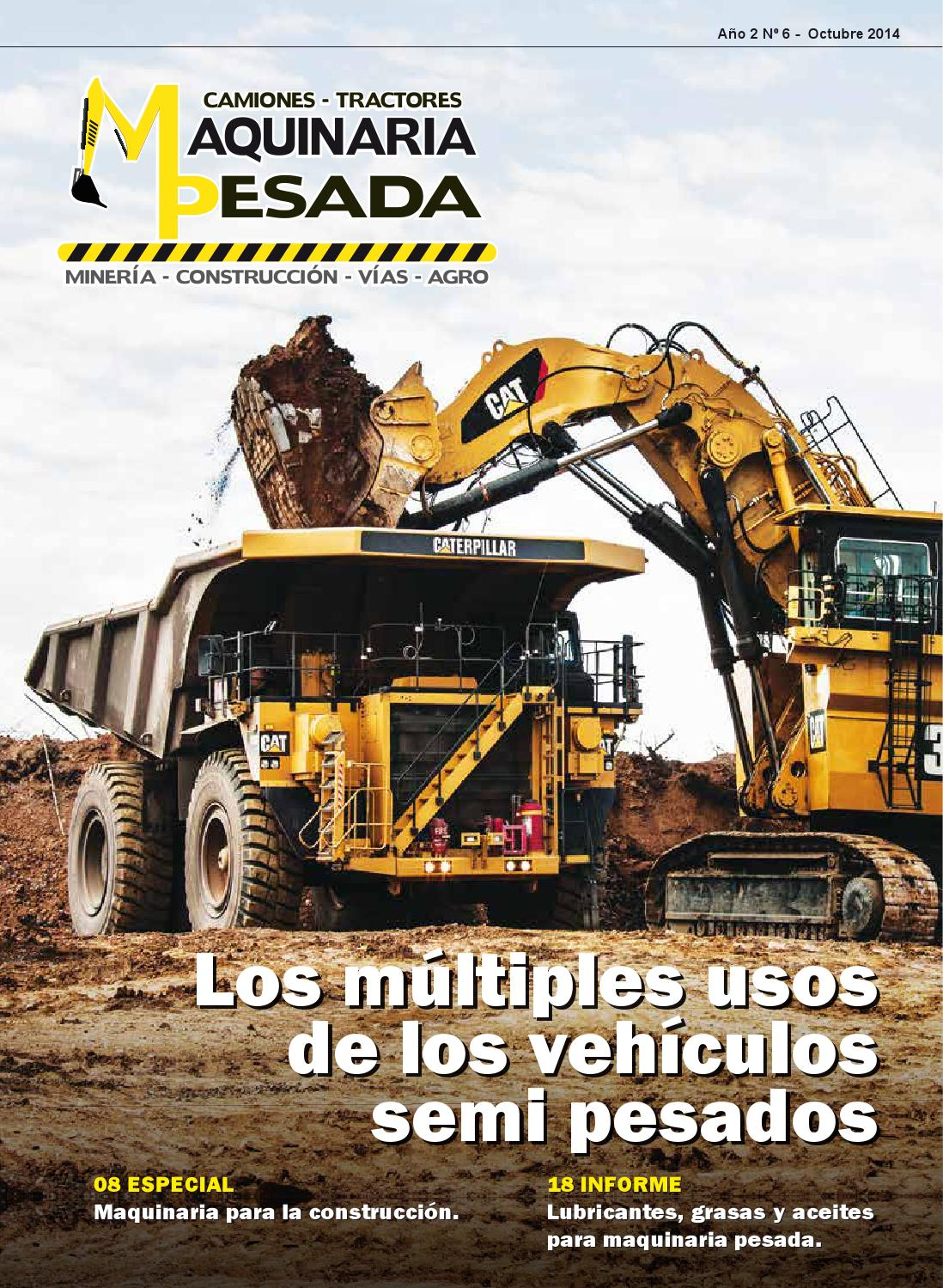 Revista Maquinaria Pesada N 6 By Magaly Villanueva Issuu