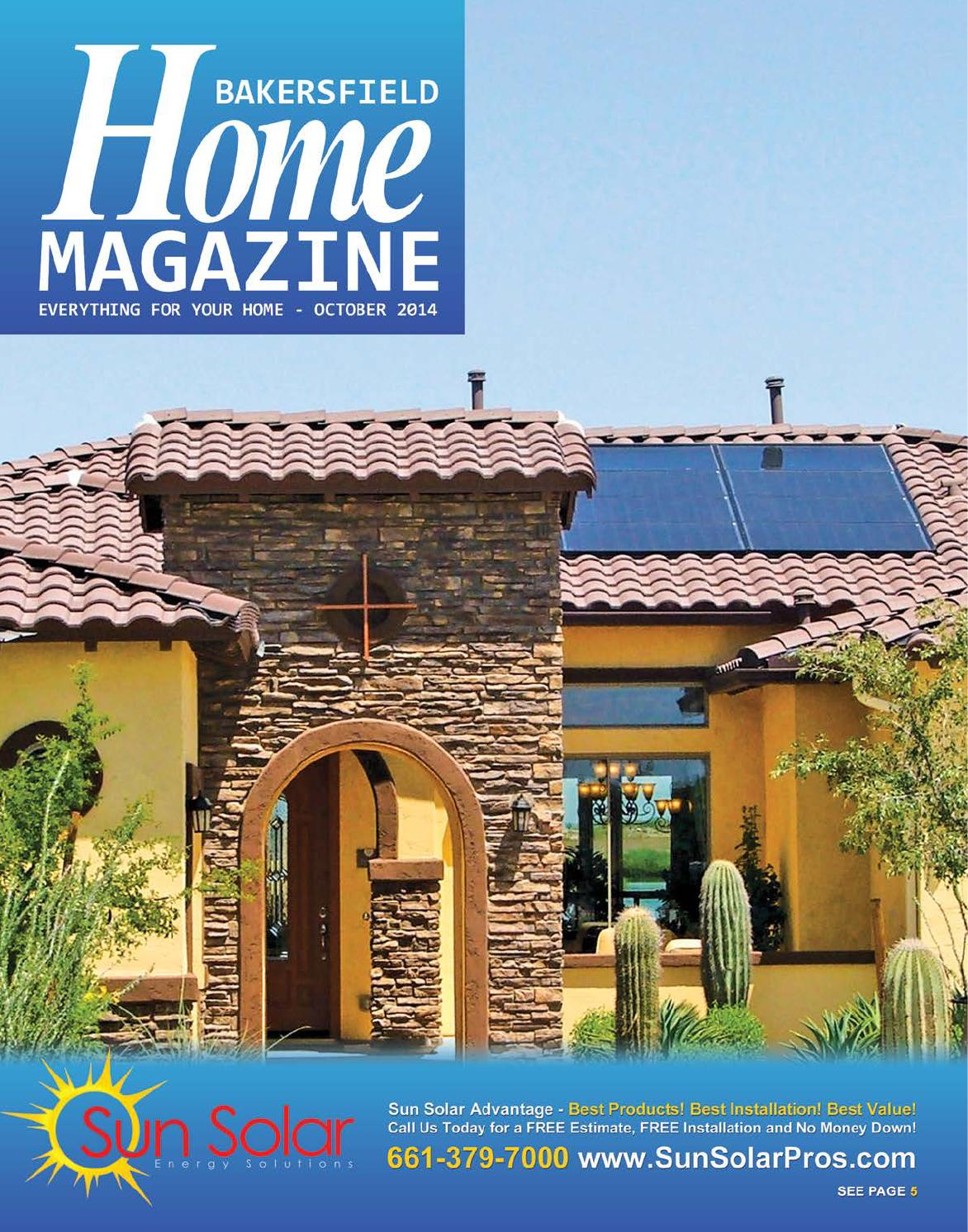 Bakersfield home mag october 2014 by bakersfield for Bakersfield home magazine