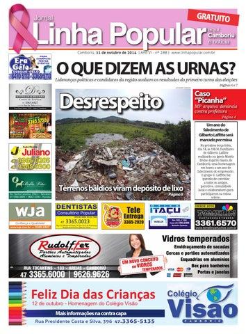 1f32059f83202 Linha popular 289 by Jornal Linha Popular (Camboriú-SC) - issuu