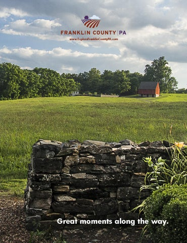 Franklin County PA Visitors Guide 2014 2015 by Franklin County