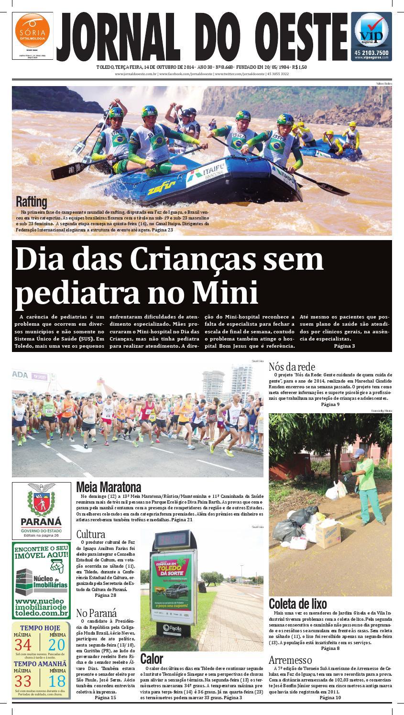 cda50f5520 Jornal do Oeste 14 de Outubro 2014 by Jornal do Oeste - issuu