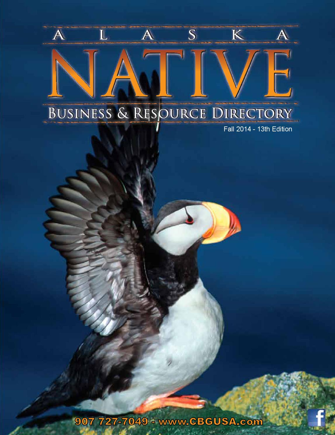 2014 alaska native directory fall yellow pages section 3 by it s