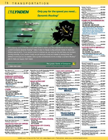 Cal Worthington Ford Anchorage >> 2014 Alaska Native Directory Fall Yellow Pages Section 3 By
