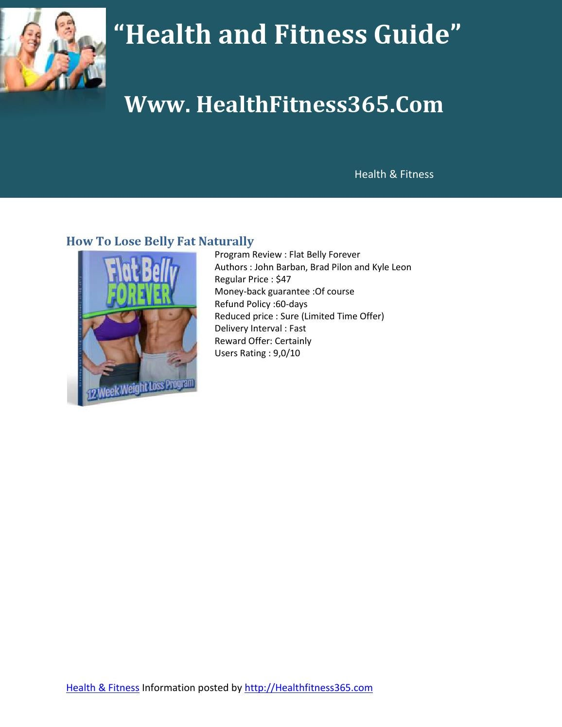 How To Lose Belly Fat Naturally By Groupproduct Issuu