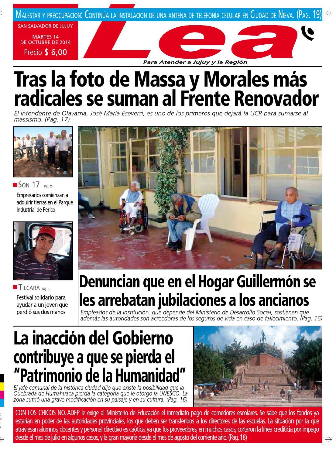 Periódico Lea 14 10 2014 by Periodico Lea - issuu