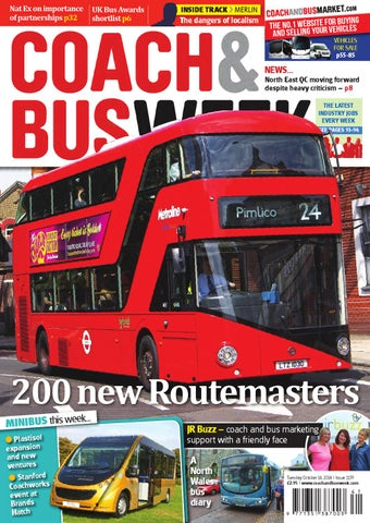 Coach & Bus Week : Issue 1159 by Coach and Bus Week & Group Travel World - Issuu