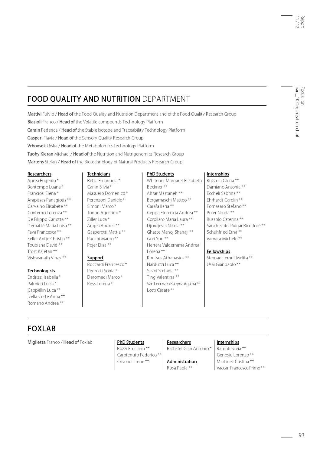 RESEARCH AND INNOVATION CENTRE ANNUAL REPORT - ENGLISH VERSIONE by  Fondazione Edmund Mach - issuu 00a746d252c0