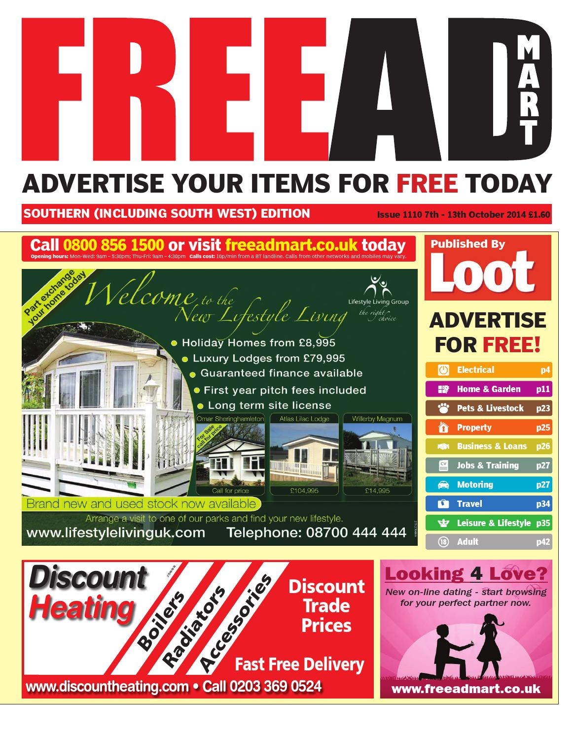 Free Ad Mart South 7th October 2014 by Loot issuu