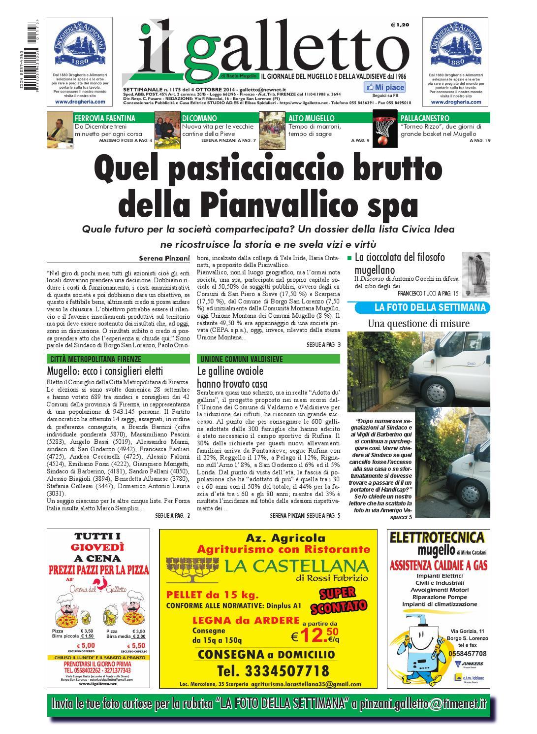 Galletto 1175 Del 4 Ottobre By Il Galletto Giornale Issuu