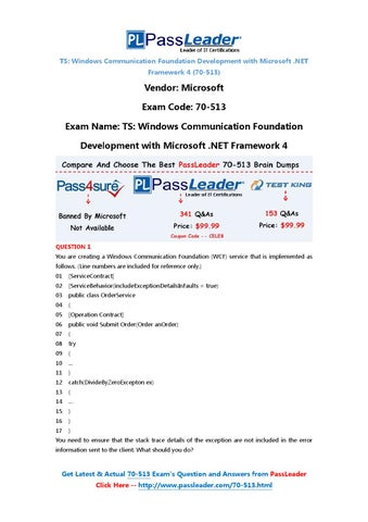Mcts 70-513 Ebook