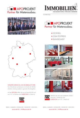 Iz doppelausgabe 39 40 2014 by immobilien zeitung apoprojekt partner fr mieterausbau fandeluxe Images