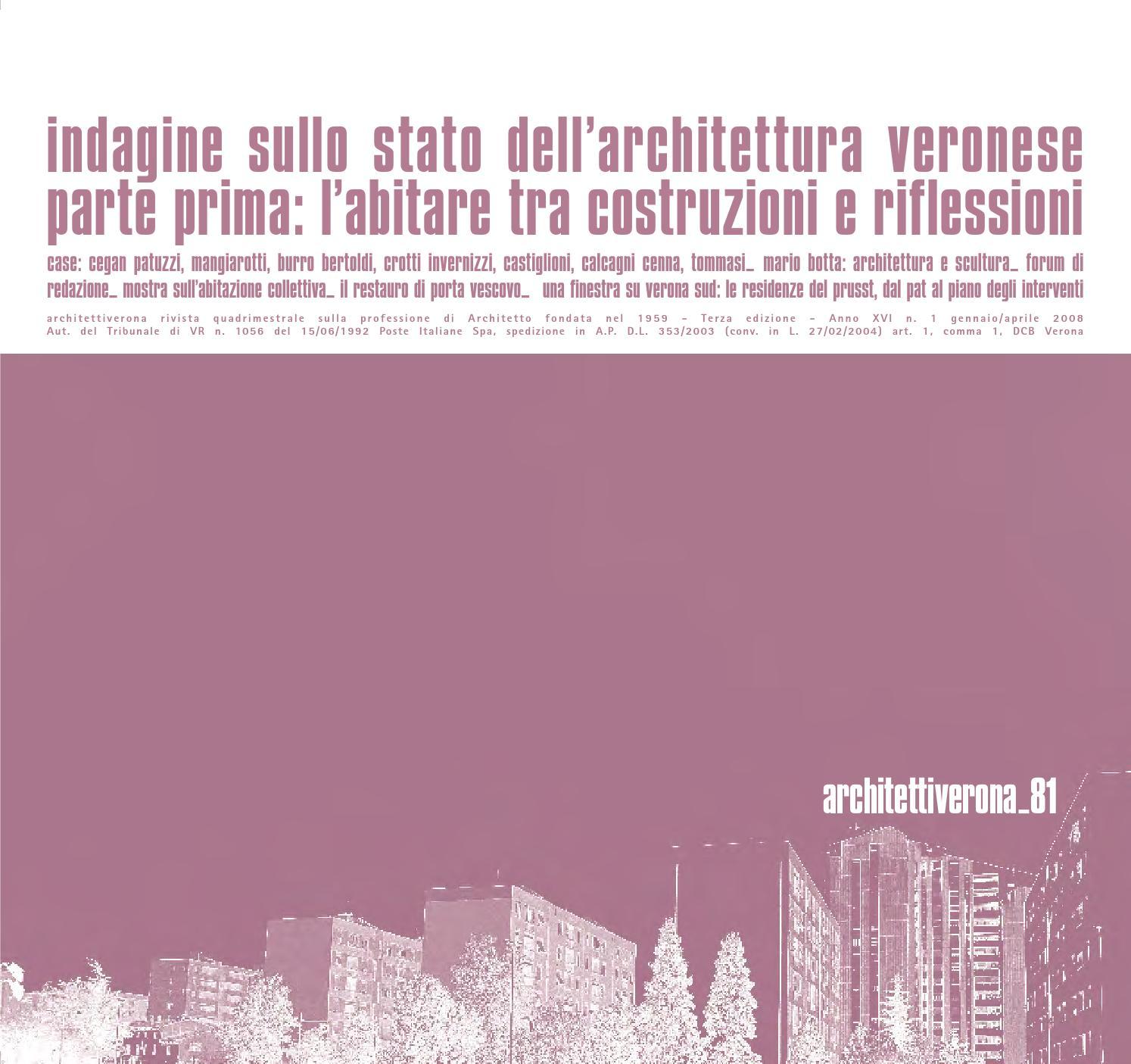 Siti Di Architetti Italiani architettiverona 81 by architettiverona - issuu