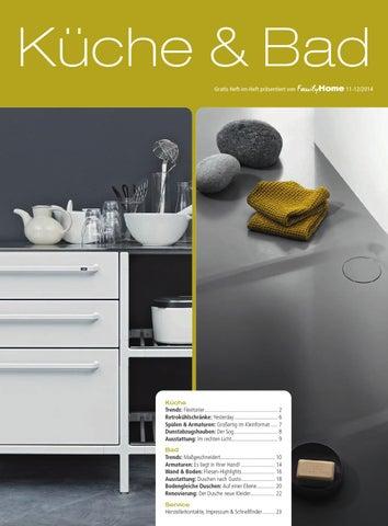 Heft Im Heft Kuche Bad 2014 By Family Home Verlag Gmbh Issuu