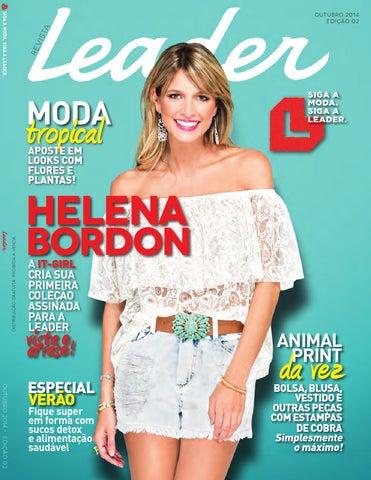 Revista Outubro Leader - Edição 02 by Lojas Leader - issuu 428dd0e2516