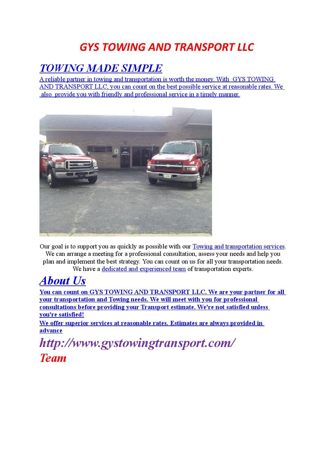 Towing Service Memphis TN Roadside Assistance By Vidyasagargoud