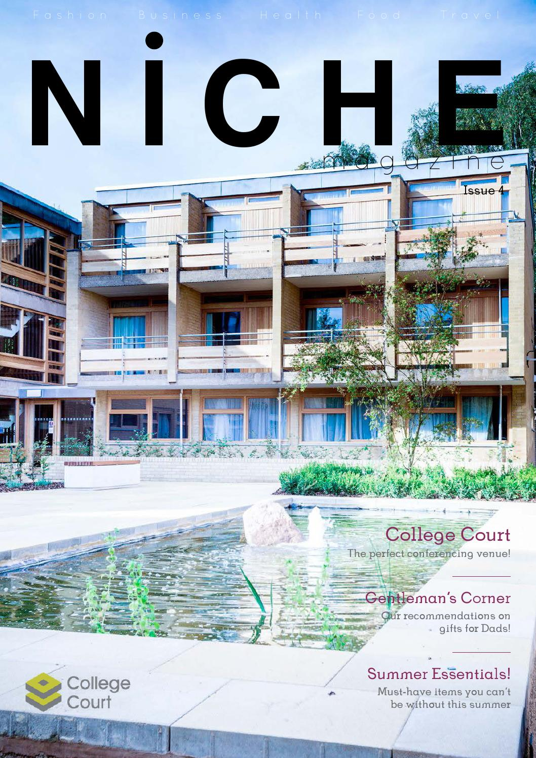 niche magazine issue 4 by niche magazine issuu. Black Bedroom Furniture Sets. Home Design Ideas