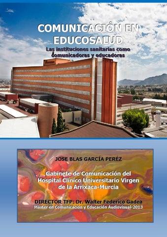 Comunicación En Educosalud Las Instituciones Sanitarias Como