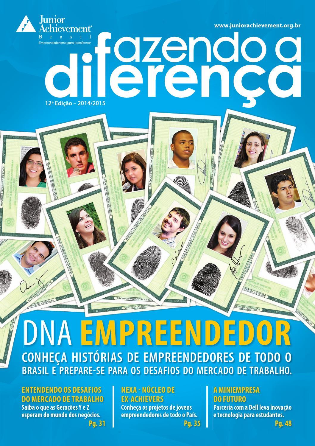 f66005394 Revista Fazendo a Diferença - 12ª Edição by Junior Achievement Brasil -  issuu