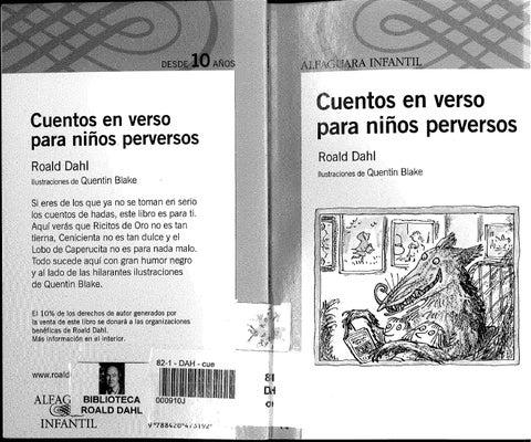 libro cuentos en verso para niños perverso pdf