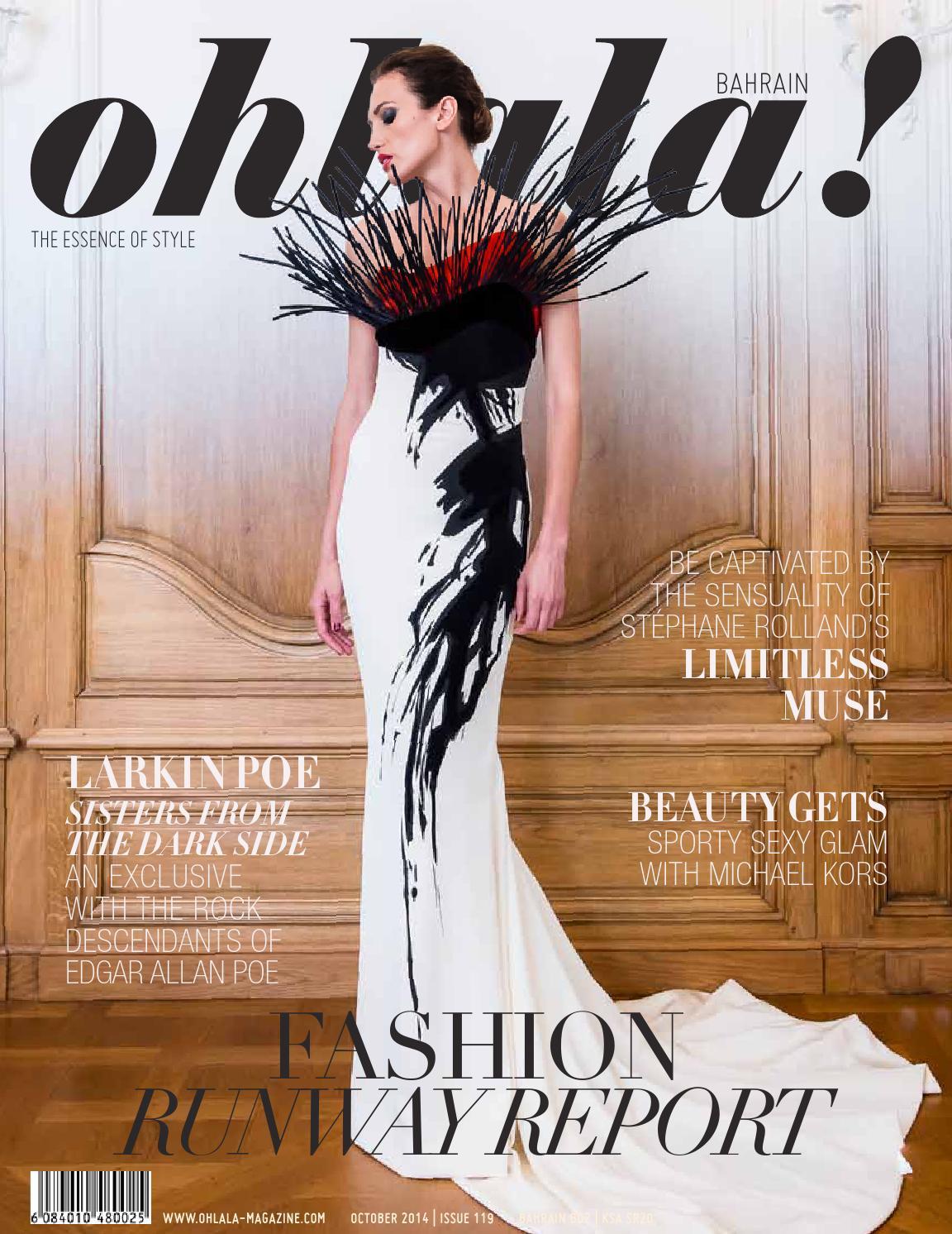 Ohlala Bahrain October 2014 By Magazine Issuu Lgs  Regular Fit Stripe Tee Blue Gray Classic Styles Biru L