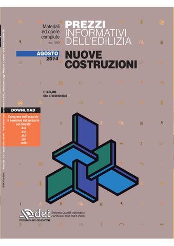 Prezzario nuove costruzioni febbraio 2016 by dei tipografia del ...