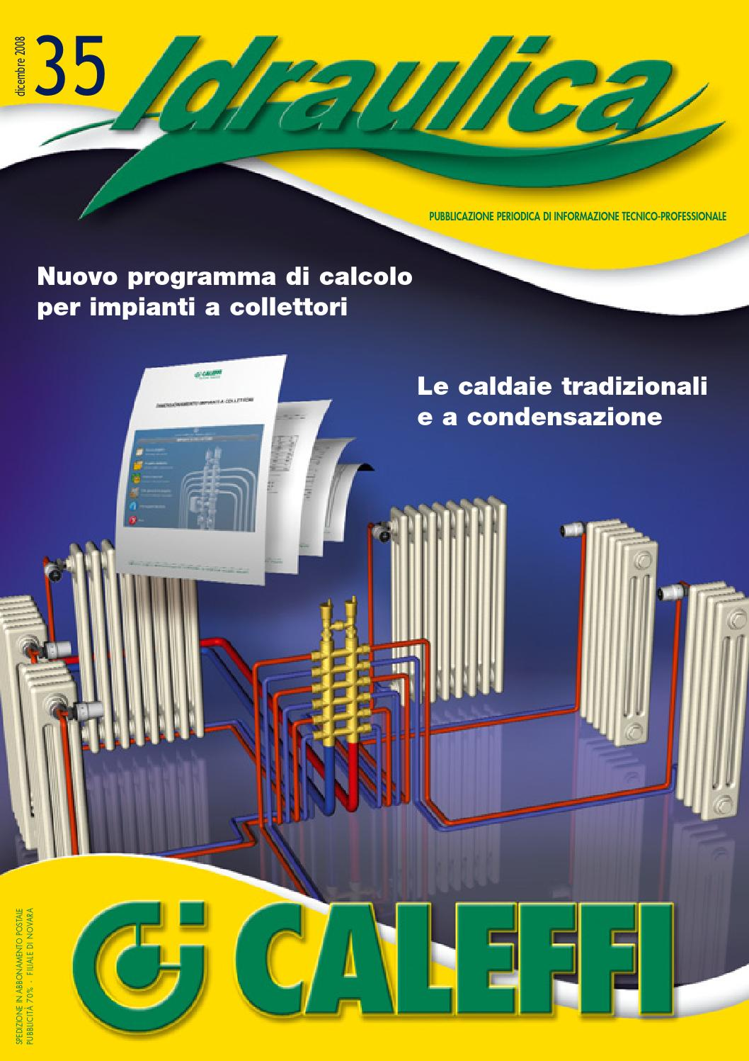 Idraulica 35 programma di calcolo per impianti a collettori by vincenzo babino issuu - Programma per calcolo posa piastrelle ...