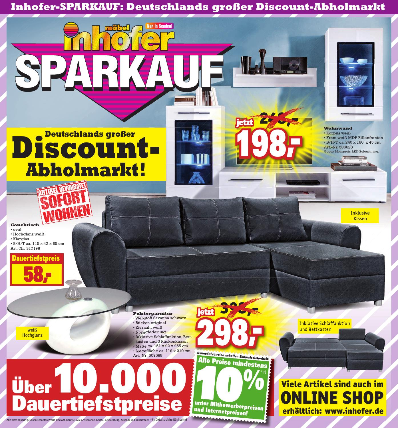 inhofer sparkauf kw 44 by wolfram daur issuu. Black Bedroom Furniture Sets. Home Design Ideas