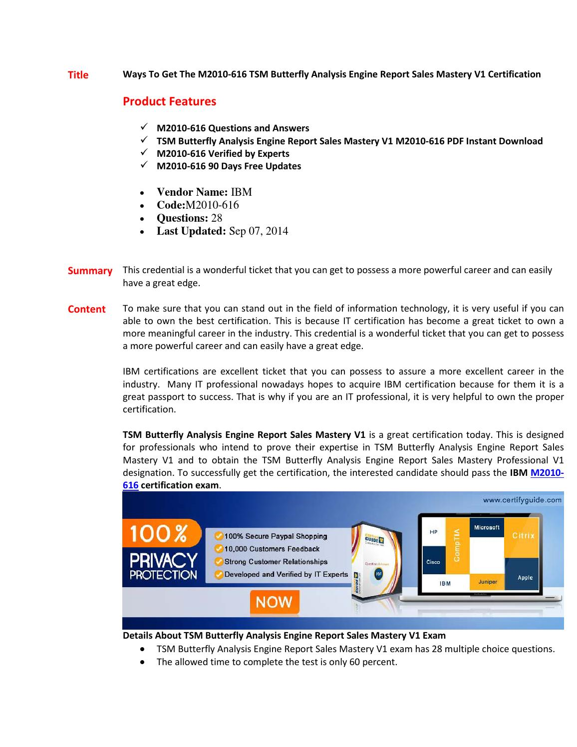 M2010 616 Certification Book By Lillyshah Issuu