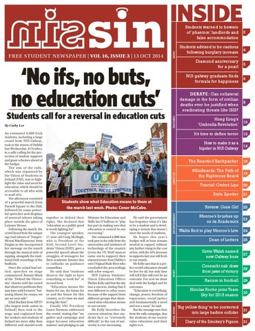 f36c1b1b64e12 Sin Volume 16 Issue 3 by Student Independent News - issuu