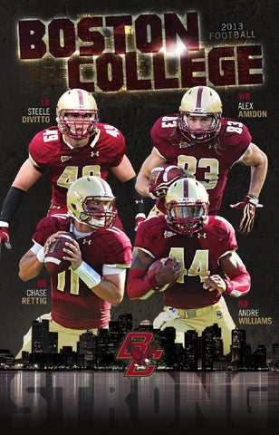 Cheap 2013 Boston College Football Media Guide by Tim Clark issuu