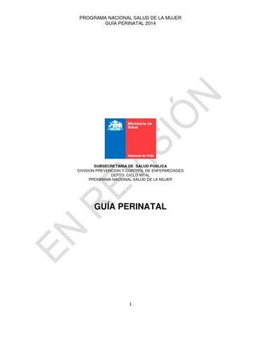 Guia perinatal by Jose Rios - issuu