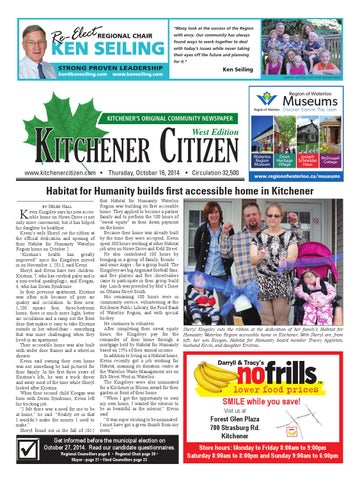 Kitchener Citizen West Edition October 2014 By Kitchener Citizen