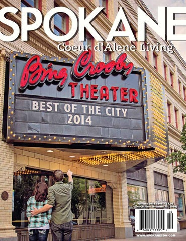spokane coeur d alene living magazine issue 108 by spokane magazine