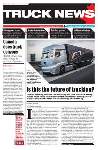 Truck News November 2014