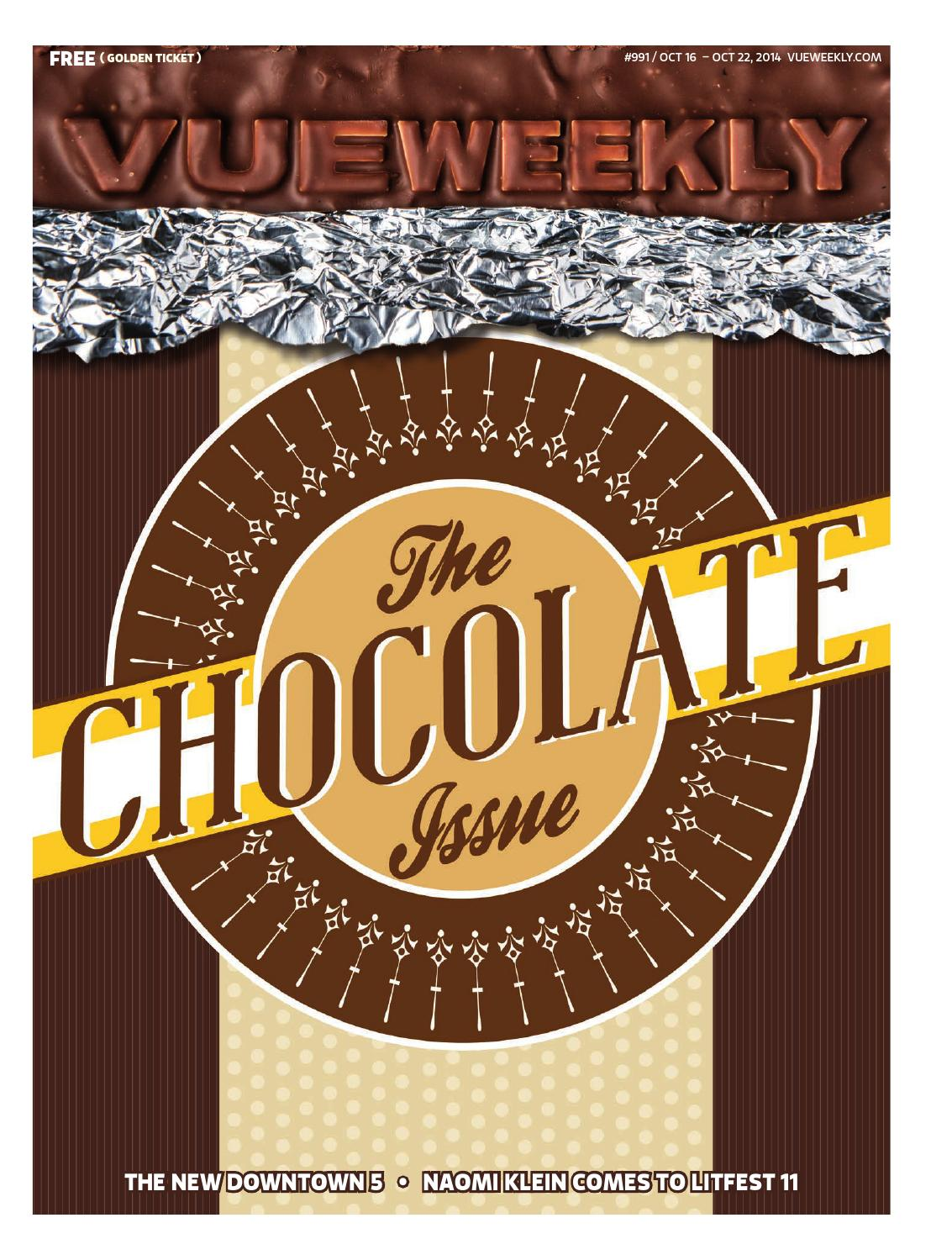 991: The Chocolate Issue by Vue Weekly - issuu
