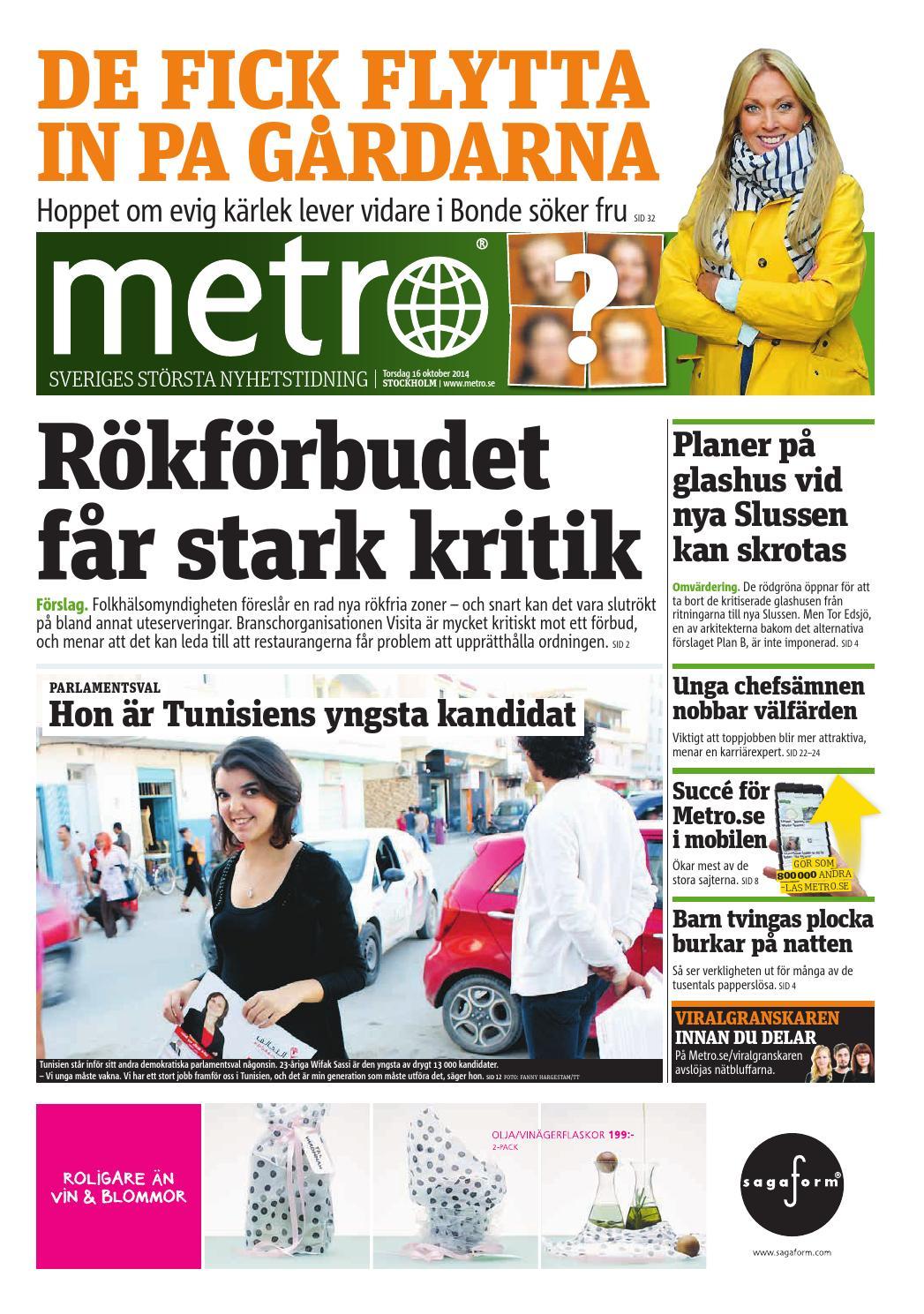 best website d0555 3ebaa 20141016 se stockholm by Metro Sweden - issuu