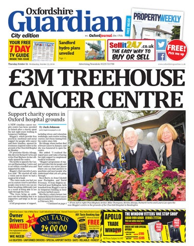 3aa76be0a7bd 16 october 2014 oxfordshire guardian city by Taylor Newspapers - issuu
