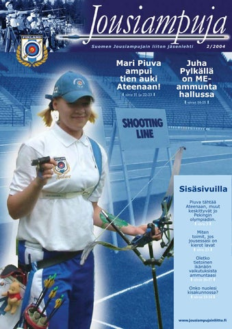 Jousiampuja 2/2004 by Archery Finland - Issuu