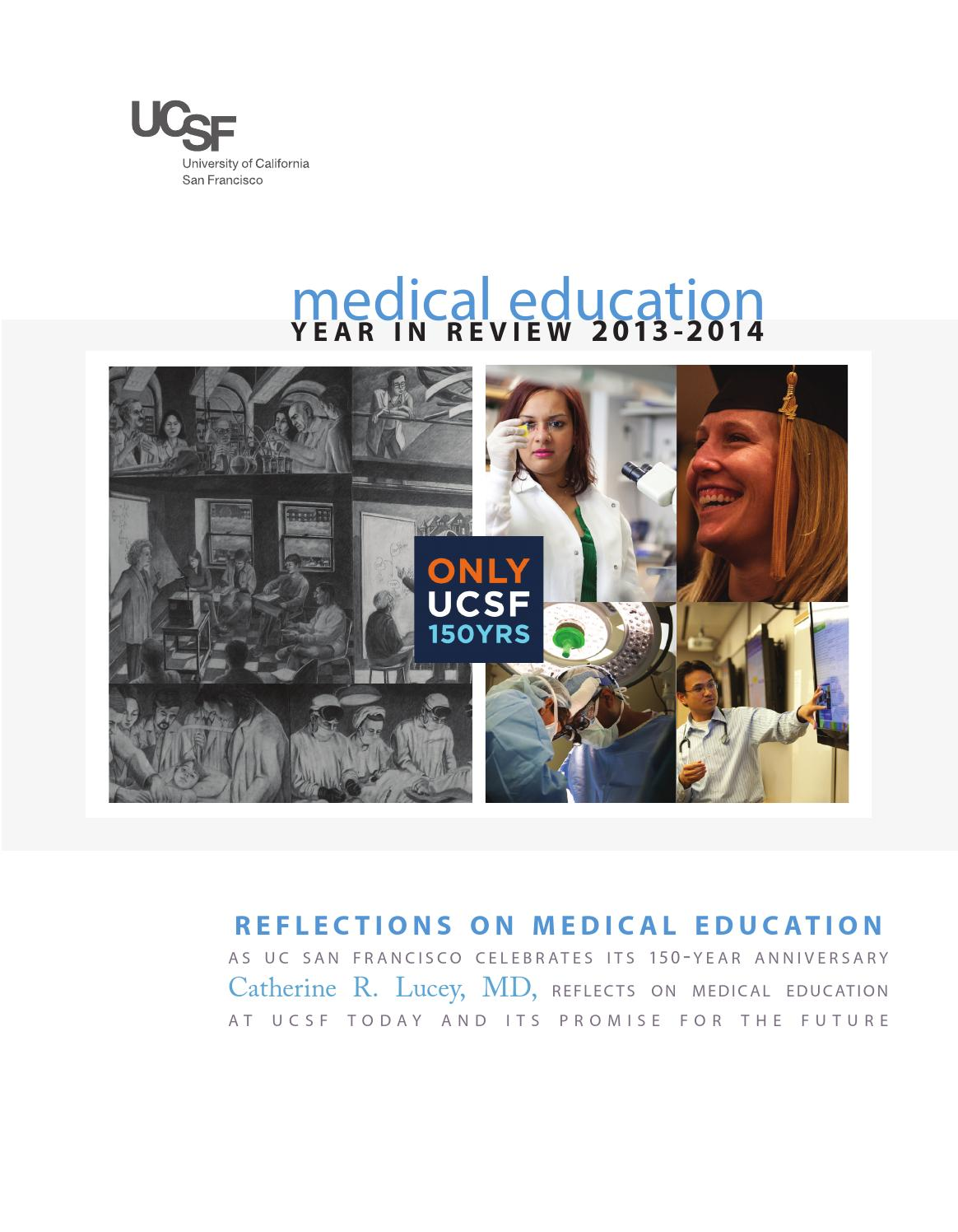UCSF Office of Medical Education Year in Review 2013-14 by