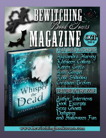 Magazine 27 by bewitching book tours issuu bewitching book tours october magazine fandeluxe Choice Image