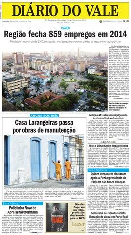 7458 diario quinta feira 16 10 2014 by Diário do Vale - issuu a8e1c165b6