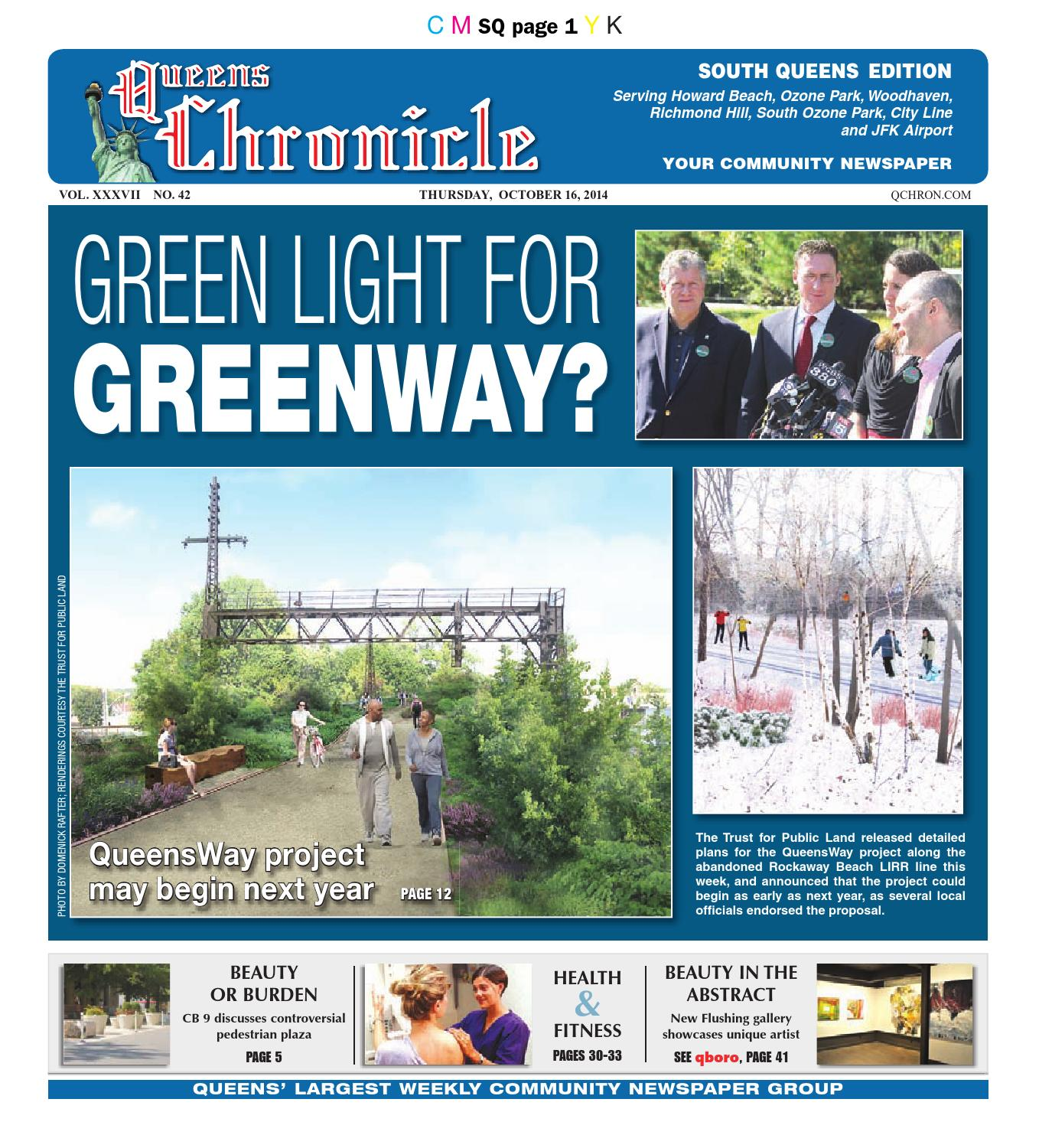 queens chronicle south edition 10 16 14 by queens chronicle issuu