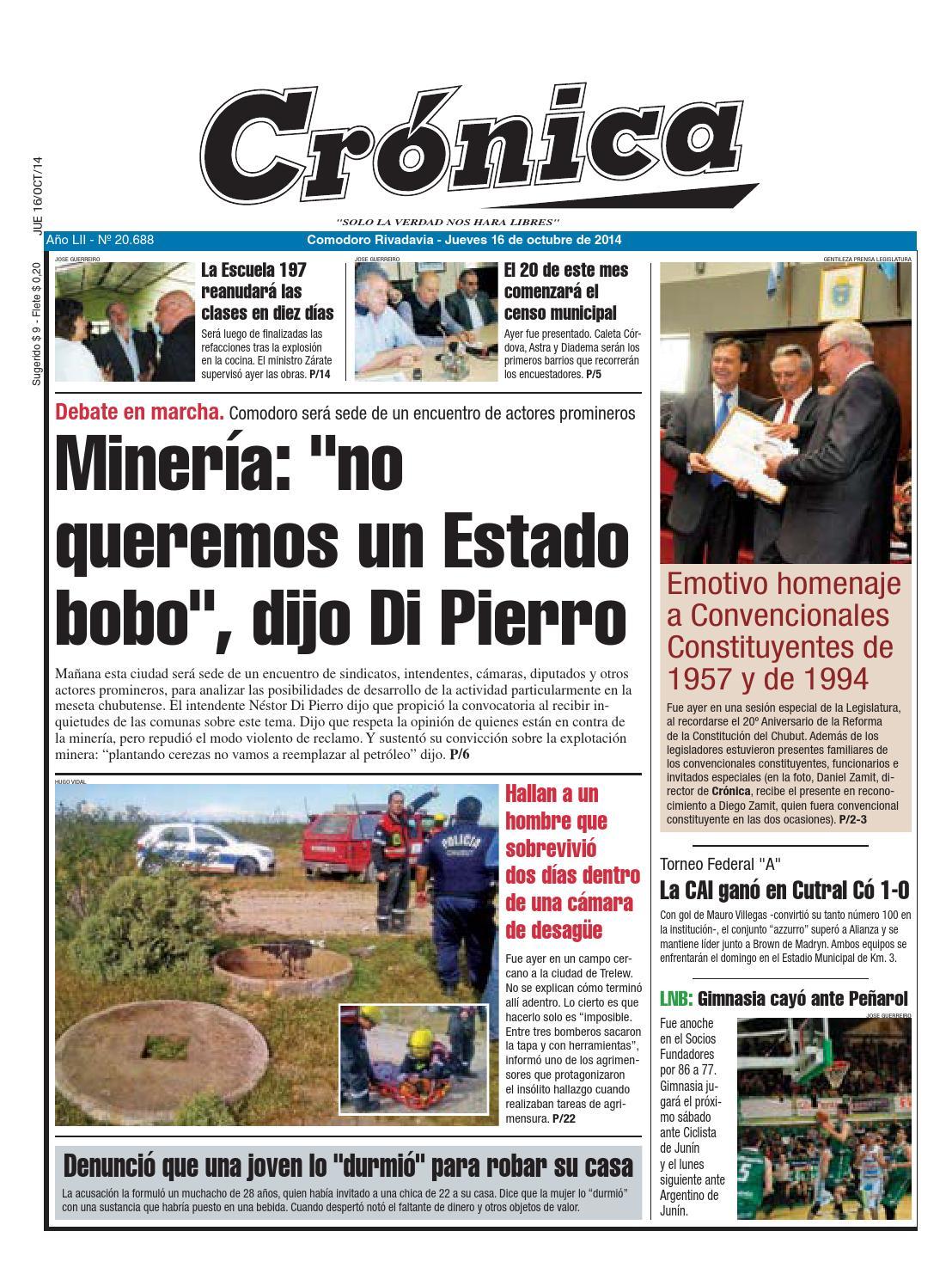 4cd269467215e6ad8e16ec1ad8fc9006 by Diario Crónica - issuu