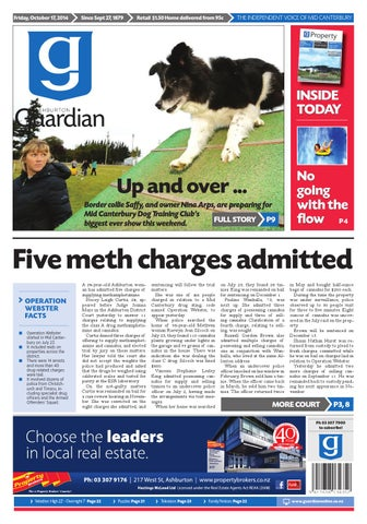 Ag 17 October 2014 By Ashburton Guardian Issuu