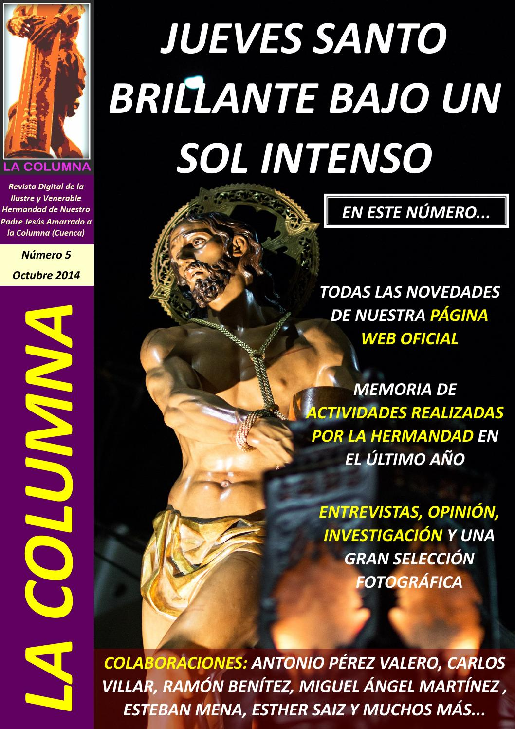 LA COLUMNA #5.- OCTUBRE 2014 by Jesús Amarrado a la Columna - issuu