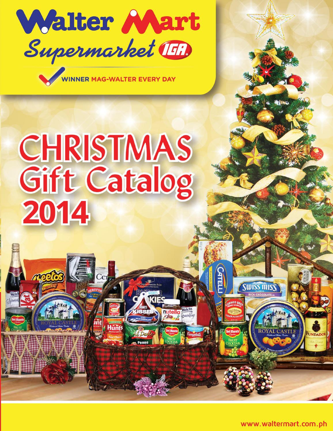 Waltermart christmas gift catalog by issuu